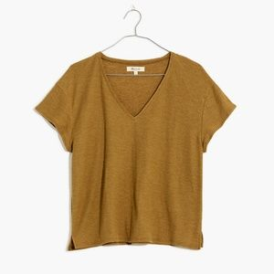 Madewell Skyline V-Neck Tee Relaxed Fit T-Shirt